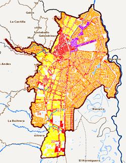 Actualización de la Información Geográfica del POT 2014 en el Geovisor IDESC