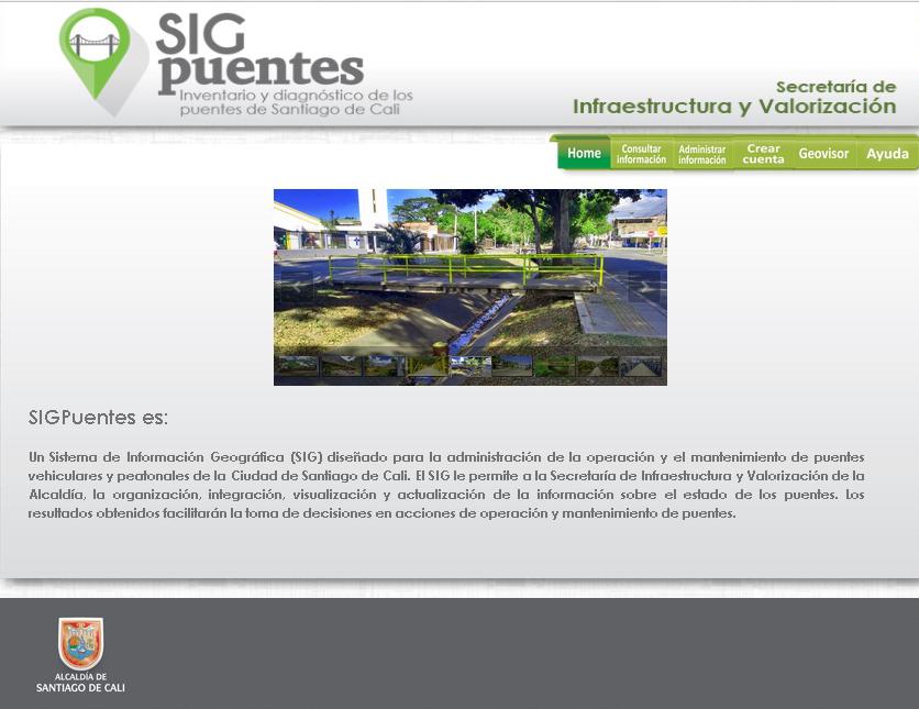SIG Puentes de Santiago de Cali